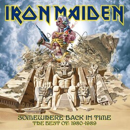 IRON MAIDEN - Somewhere Back In Time (2LP)