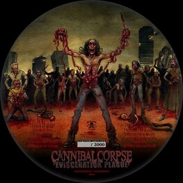 CANNIBAL CORPSE - Evisceration Plague (Picture Disc Vinyl) (LP)