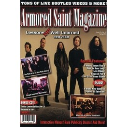 ARMORED SAINT - Armored Saint Magazine Lessons Not Well Learned (DVD)