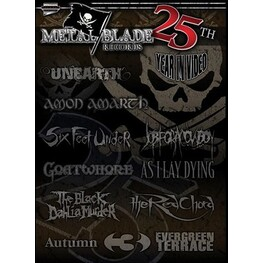 VARIOUS ARTISTS - Metal Blade Records: 25th Year In Video (DVD)