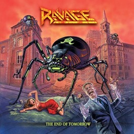 RAVAGE - End Of Tomorrow, The (CD)