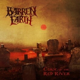 BARREN EARTH - Curse Of The Red River (CD)