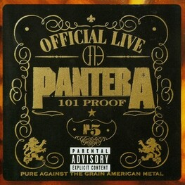 PANTERA - Official Live 101 Proof (CD)