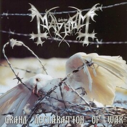 MAYHEM - Grand Declaration Of War (CD)