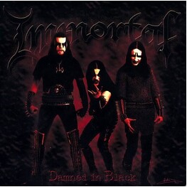 IMMORTAL - Damned In Black (CD)