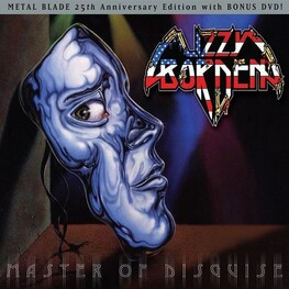 LIZZY BORDEN - Master Of Disguise + Bonus Dvd (25th Anniversary) (CD+DVD)