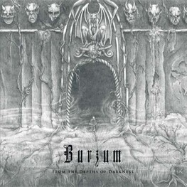 BURZUM - From The Depths Of Darkness: Clear Vinyl (Import- (2LP)
