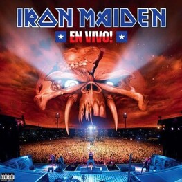 IRON MAIDEN - En Vivo! (Explicit Version 2 Lp) (2LP)