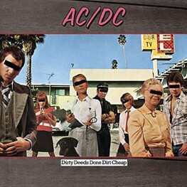 AC/DC - Dirty Deeds Done Dirt Cheap (LP)