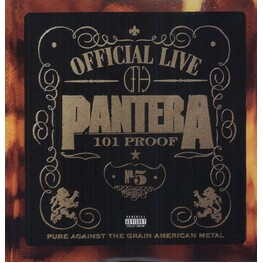 PANTERA - Official Live: 101 Proof (180g Vinyl) (LP)