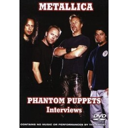 METALLICA - Phantom Puppets: The Interviews (DVD)