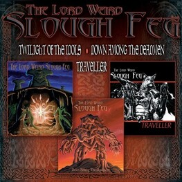 LORD WEIRD SLOUGH FEG - 3cd Boxset (Twilight Of The Mols / Down Among The Deadmen / Traveller) (3CD)