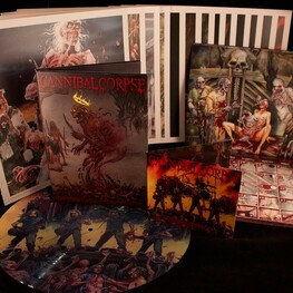 CANNIBAL CORPSE - Dead Human Collection: 25 Years Of Death Metal (13cd + Lp + Calendar + Art Prints) (13CD)