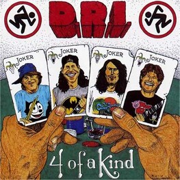 D.R.I. - Four Of A Kind (CD)