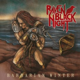 RAVEN BLACK NIGHT - Barbarian Winter (CD)
