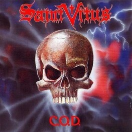 SAINT VITUS - C.O.D. (Red Transparent Vinyl - Limited To 550) (LP)
