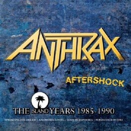 ANTHRAX - Aftershock: The Island Years 1985-1990 (4CD)