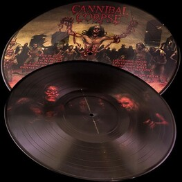 CANNIBAL CORPSE - Evisceration Plague: 25th Anniversary Edition (Picture Disc) (LP)