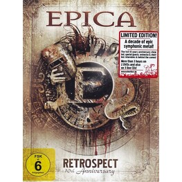 EPICA - Retrospect - 10th Anniversary (Dvd Box Set) (2DVD + 3CD)