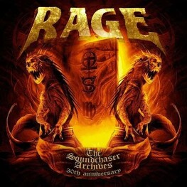 RAGE - Soundchaser Archives, The (2CD+DVD)