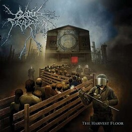 CATTLE DECAPITATION - Harvest Floor (Bloody Steel Coloured Vinyl - 180 Grams) (LP)