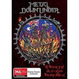 VARIOUS ARTISTS - Metal Down Under: A History Of Australian Heavy Metal (DVD)
