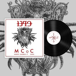 1349 - Massive Cauldron Of Chaos (Black Vinyl) (LP)