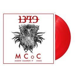 1349 - Massive Cauldron Of Chaos (Red Vinyl) (LP)