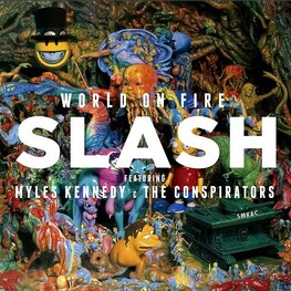 SLASH - World On Fire (LP)
