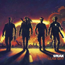 STEAK - Slab City (CD)
