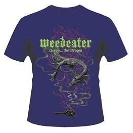 WEEDEATER - Jason... The Dragon Purple T-shirt - Xx-large (T-Shirt)