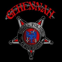 GEHENNAH - Metal Police (Uk) (LP)