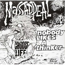MASSAPPEAL - Nobody Likes A Thinker (Red & Gray Splattered Vinyl) + Bar Of Life (Bonus 7-inch) (LP)