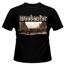 WEEDEATER - Weedeater - Soldiers Design T-shirt (Black) - Large (T-Shirt)