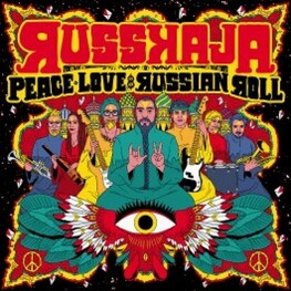 RUSSKAJA - Peace, Love & Russian Roll - L (CD)