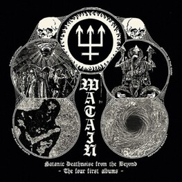 WATAIN - Satanic Deathnoise From The Beyond - The Four First Albums (4CD)