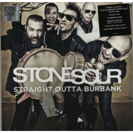 STONESOUR, RSD BF 2015 - Straight Outta Burbank [lp] (Clear & Gold Vinyl, New Covers Ep, Download, Limited To 5000, Indie-retail Exclusive) (LP)