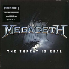 MEGADETH, RSD BF 2015 - Threat Is Real / Foreign Policy [12in] (White Vinyl, 2 Brand New Songs, Limited To 4000, Indie-exclusive) (12in)