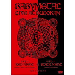 BABYMETAL - Live At Budokan: Red Night & Black Night Apocalypse (2 DVD)