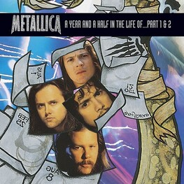 METALLICA - Year & A Half In The Life Of Metallica Part 1 & 2 (DVD)
