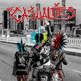 CASUALTIES - Chaos Sound (Limited Green Coloured Vinyl) (LP)