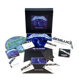 METALLICA - Ride The Lightning: Remastered Deluxe Box Set (4lp + 6cd + Dvd + Books + Posters) (4LP)