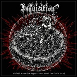 INQUISITION - Bloodshed Across The Empyrean Altar Beyond The Celestial Zenith (Marbled Red/black Vinyl) (2LP)