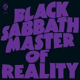 BLACK SABBATH - Master Of Reality (Opaque Green Coloured Vinyl - Limited 180 Gram) (LP)