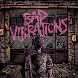 A DAY TO REMEMBER - Bad Vibrations (Limited Coke Bottle Green & Baby Pink Coloured Vinyl) (LP)