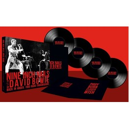 NINE INCH NAILS, DAVID BOWIE - Back In Anger: 1995 Radio Transmissions (Vinyl) (4LP)