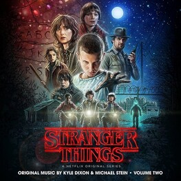 KYLE DIXON & MICHAEL STEIN, SOUNDTRACK - Stranger Things: A Netflix Original Series Vol. 2 (CD)