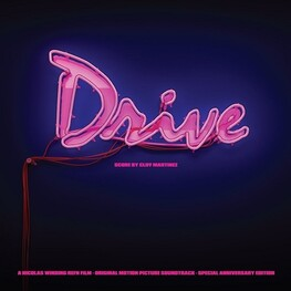 CLIFF MARTINEZ, SOUNDTRACK - Drive: 5th Year Anniversary Edition (Limited Coloured Vinyl) (2LP)
