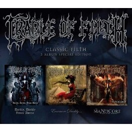 CRADLE OF FILTH - Classic Filth (3CD)