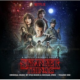 KYLE DIXON & MICHAEL STEIN - Stranger Things: A Netflix Original Series Vol. 1 (Limited Coloured Vinyl) (2LP)